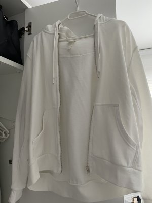 H&M Kurtka oversize biały