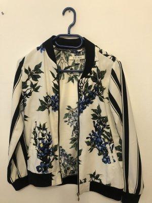 Unbekannte Marke Giacca a blusa bianco-nero