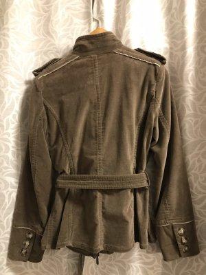 cerruti 1881 Between-Seasons Jacket green grey-khaki cotton