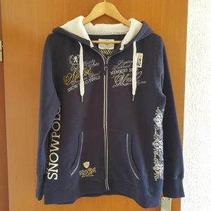 Soccx Sweat Jacket dark blue cotton