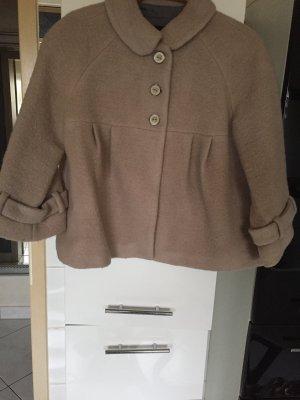 Zara Basic Veste en laine beige