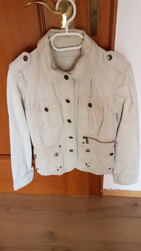 Blazer en jean gris clair