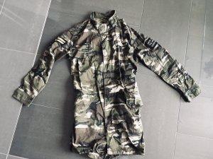 Amisu Veste militaire vert olive-kaki