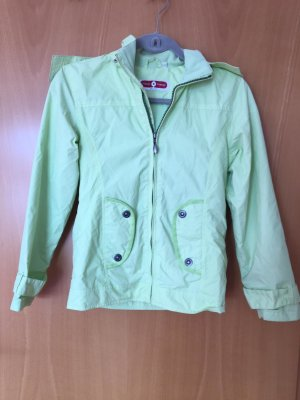 H&M Giacca con cappuccio verde pallido Tessuto misto