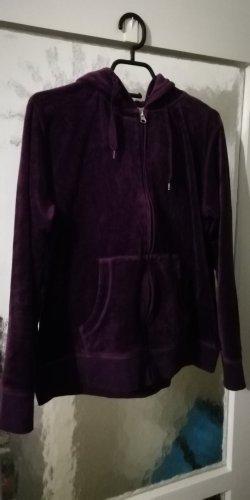 Chaqueta estilo camisa lila