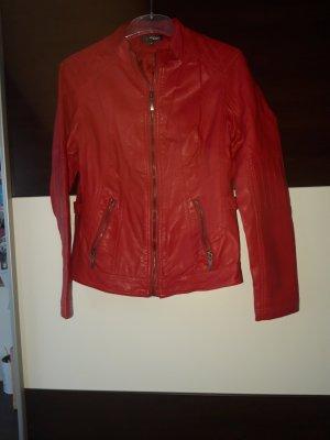 My Own Biker Jacket neon red