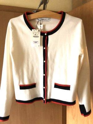 Zara Shirt Jacket natural white
