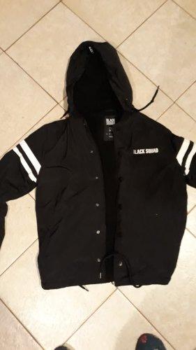 Black Squad Veste mi-saison blanc-noir