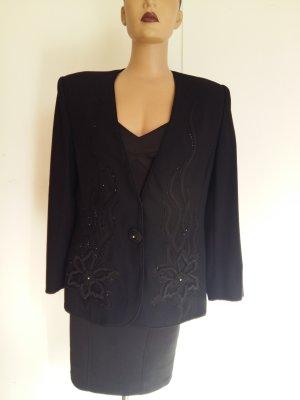 Alexis Blazer en laine noir coton