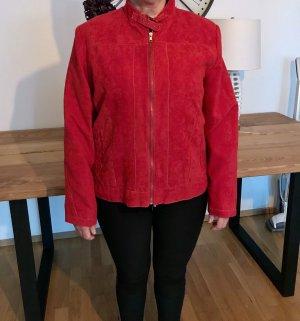 Biaggini Krótka kurtka czerwony