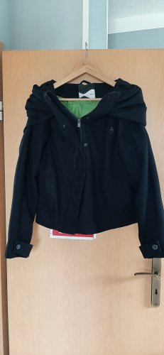 Skunkfunk Between-Seasons Jacket black wool
