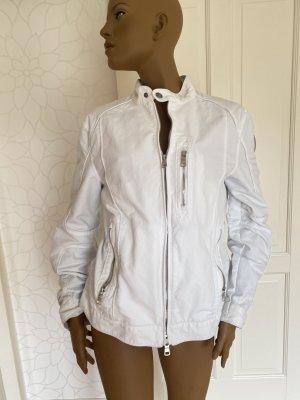 Armani Exchange Veste en jean blanc