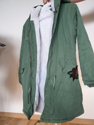 Butik Winter Jacket green grey-khaki