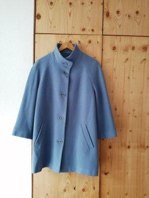 Oversized Jacket azure wool