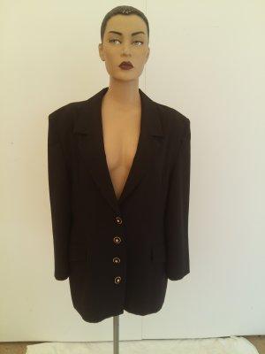 Długa kurtka czarny