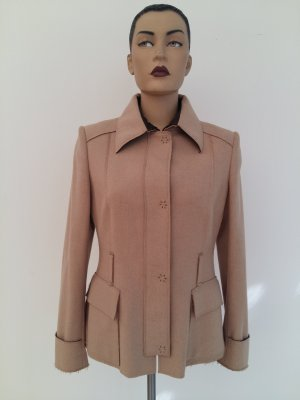 Carolina Herrera Blazer de lana beige lana merina