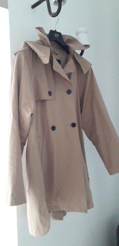 Zara Veste à capuche chameau