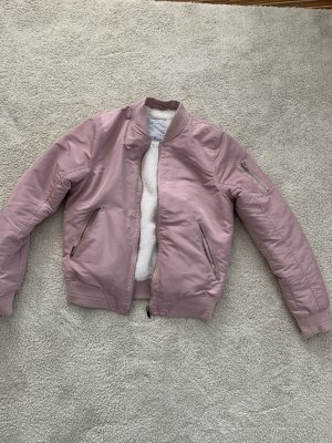 Giacca bomber color oro rosa