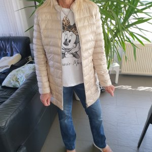 Gerry Weber Quilted Jacket oatmeal