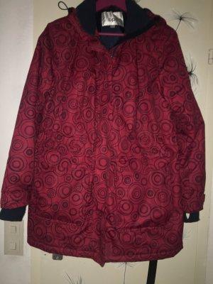 bpc bonprix collection Kurtka z kapturem ciemnoczerwony-ciemnoniebieski