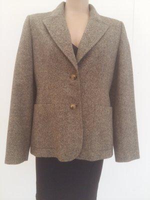 Burberry London Wool Blazer olive green-ocher wool