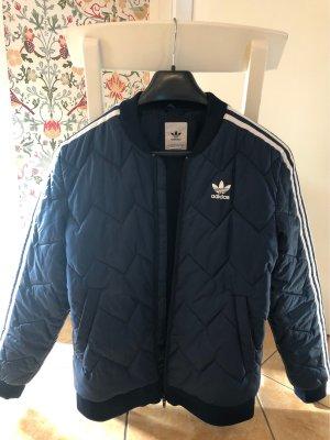 Adidas Kurtka przejściowa ciemnoniebieski