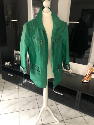 Biker Jacket green