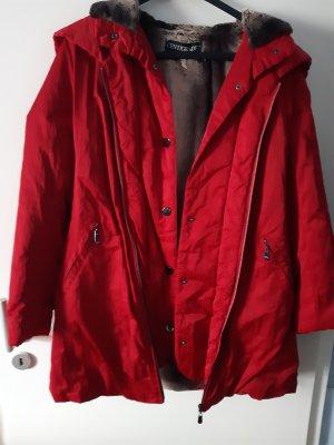 Centigrade Oversized Jacket red