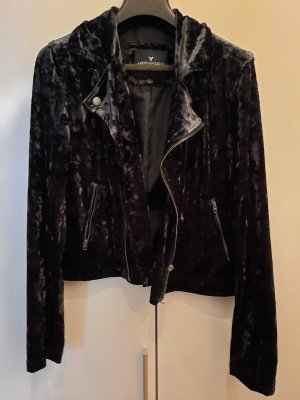 American Eagle Outfitters Biker Jacket black-anthracite