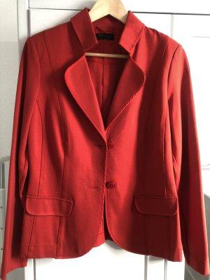 Apanage Klassischer Blazer rosso