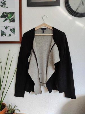 Armani Jeans Veste courte noir-gris