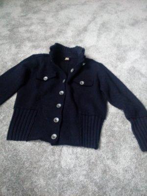 Jacke aus gewalkter Wolle Gr. 40
