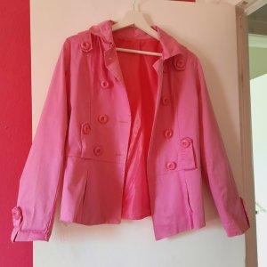 aus Italien Overgangsjack roze