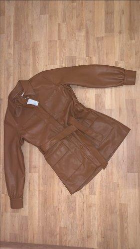 Jacke aus Kunstleder von H&M