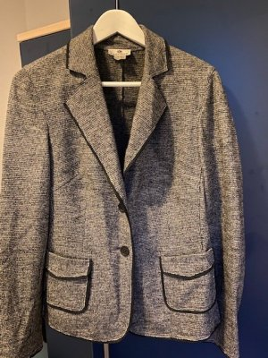 Wool Jacket black-white wool