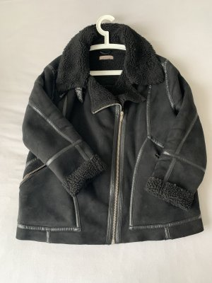 Asos Faux Leather Jacket black