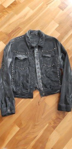 Jacke aus Samt