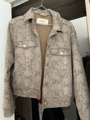 Jacke aus Stoff  und Animalprint