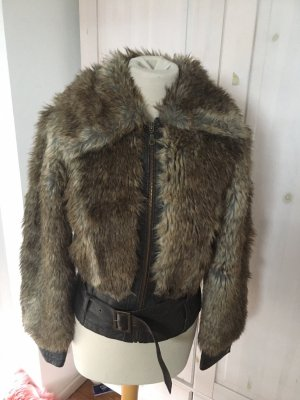 Jacke Aviatior Fake fur