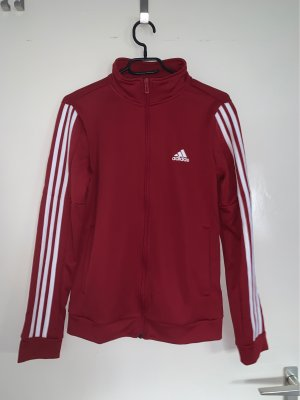 Adidas Originals Fleece Jackets dark red