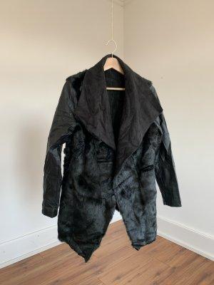 Esmara Fur Jacket black