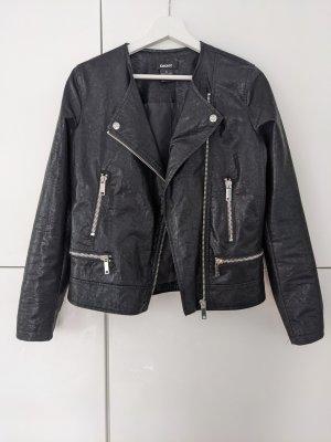 DKNY Giacca da motociclista nero