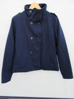 Jacke blau Zoo York Gr. M Wollmix