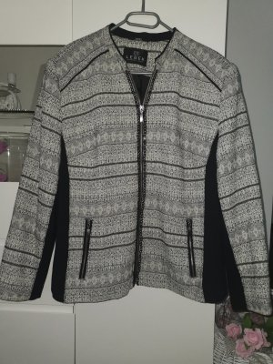 BARBARA LEBEK Tweed blazer wit-zwart