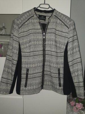 BARBARA LEBEK Blazer Tweed blanco-negro