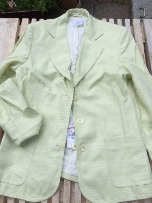 Jacke Blazer Elegance frisch Mint Hellgrün Pastell Farbe - Gr. 38