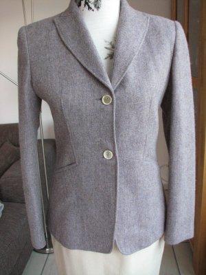 Wool Blazer blue violet-beige