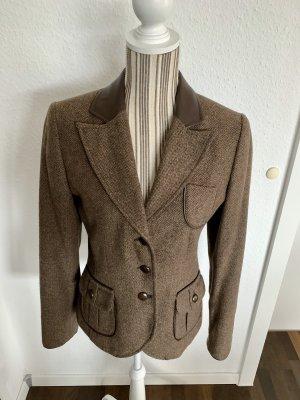 Bonita Blazer de lana multicolor Lana
