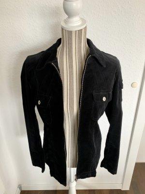 Bonita Blazer in tweed nero Cotone
