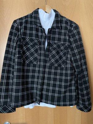 Canda Premium Jersey Blazer black-white